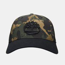Timberland Men's Camo Mesh Trucker Cap