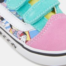 Vans Kids' x Disney Mickey Mouse Old Skool V Shoe, 1377404