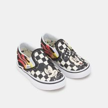 Vans Kids' x Disney Mickey Mouse Classic Slip-On Shoe, 1377396