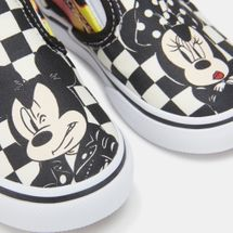 Vans Kids' x Disney Mickey Mouse Classic Slip-On Shoe, 1377399