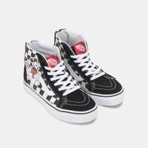 Vans Kids' x Disney Mickey Mouse SK8-Hi Zip Shoe, 1377456