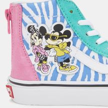 Vans Kids' x Disney Mickey Mouse SK8-Hi Zip Shoe, 1377454