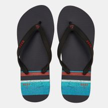 Reef Men's Switchfoot Prints Flip Flops Red