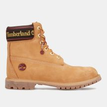 Timberland Women's 6-Inch Premium Leather and Fabric Boot