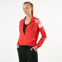 The North Face Women's Train N Logo Wind Jacket, 1541375
