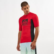 Reef Logo Rash Guard II Long Sleeve T-Shirt