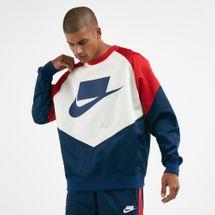 Nike Men's Sportswear Woven Crew Sweatshirt