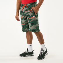 Nike Men's Sportwear Camo Shorts