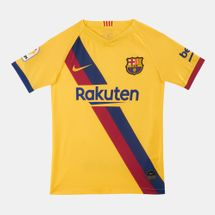 Nike Kids' FC Barcelona Football Breathe Stadium Away T-Shirt (Older Kids)