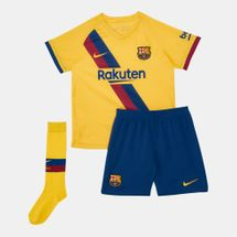 Nike Kids' FC Barcelona Away Kit (Younger Kids)