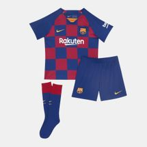 Nike Kids' FC Barcelona Home Kit -2019/20 (Younger Kids)