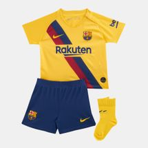 Nike Kids' FC Barcelona Away Kit (Baby and Toddler)