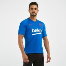 Nike Men's FC Barcelona Breathe Strike Football T-Shirt