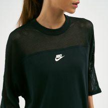 Nike Women's Sportswear Crew Mesh T-Shirt, 1725195