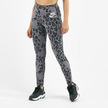 Nike Women's Sportswear Leopard Print Leggings