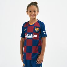 Nike Kids' FC Barcelona Breathe Stadium Home Football Jersey - 2019/20 (Older Kids)