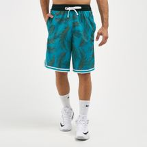 Nike Men's Dry DNA Floral Basketball Shorts Green