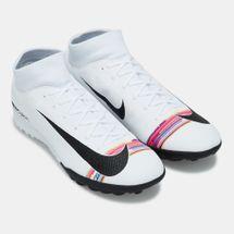 حذاء كرة القدم سوبرفلاي 6 اكاديمي لفل-أب اكاديمي لملاعب العشب الصناعي من نايك للرجال, 1742349