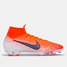 Nike Men's Mercurial Superfly 360 Elite Firm Ground Football Shoe Red