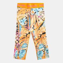 Nike Kids' Pro Allover Print Capri Leggings (Older Kids)