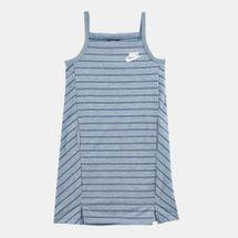 فستان سبورتسوير مخطط من نايك للاطفال الكبار