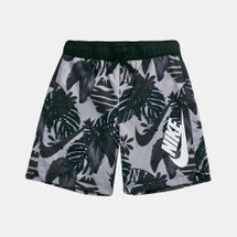 Nike Kids' Sportswear Allover Print Woven Shorts (Older Kids)