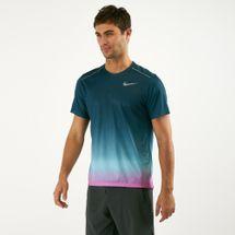 Nike Men's Dri-FIT Miler Printed Running T-Shirt