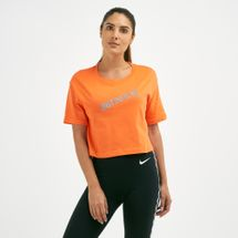 Nike Women's Sportswear Cropped Stamp T-Shirt