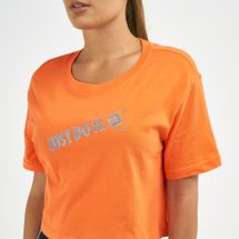 Nike Women's Sportswear Cropped Stamp T-Shirt, 1735018