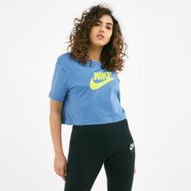 Nike Women's Sportswear Essential Futura Cropped T-Shirt