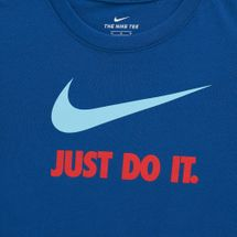 Nike Kids' Sportswear Just Do It T-Shirt (Older Kids), 1712269