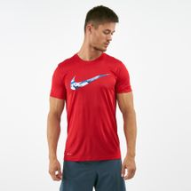Nike Men's Dry Legend Camo Swoosh T-shirt