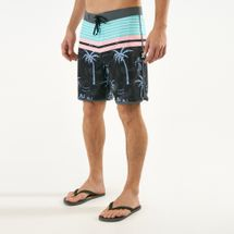 Hurley Men's Phantom Aloha Twist 18 Inch Shorts Black