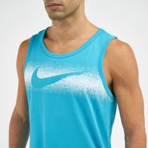 Nike Men's Dri-FIT Chalk Swoosh Tank Top, 1732522