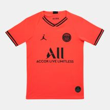 Nike Kids' Paris Saint Germain Breathe Stadium Home Away T-Shirt (Older Kids)