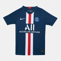 Nike Kids' Paris Saint Germain Breathe Stadium Home T-Shirt (Older Kids)