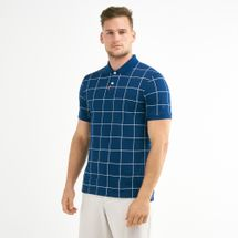 Nike Golf Men's Slim Grid Polo T-Shirt