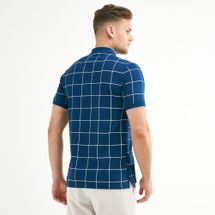 Nike Golf Men's Slim Grid Polo T-Shirt, 1739452