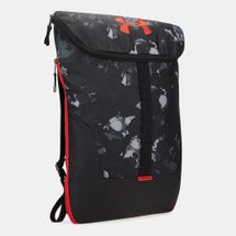 Under Armour Expandable Sackpack Bag - Black, 1607187
