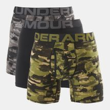 Under Armour Men's Charged Cotton 6 Inch Novelty Briefs (3 Pack)