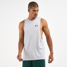 Under Armour Men's Sportstyle Left Chest Cut-Off Tank Top