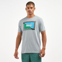Under Armour Men's Tennis Photoreal Split Hem T-Shirt