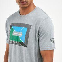 Under Armour Men's Tennis Photoreal Split Hem T-Shirt, 1713299