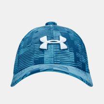 قبعة بليتزينج 3.0 بالطبعات من اندر ارمر للاطفال الكبار