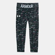 Under Armour Kids' Heat Gear Ankle Crop Printed Leggings (Older Kids)