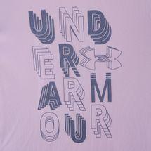 Under Armour Kids' Linear Wordmark T-Shirt (Older Kids), 1656001