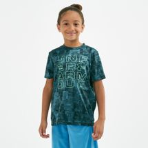 Under Armour Tech™ Branded Printed T-Shirt (Older Kids)