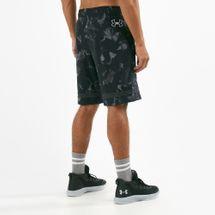 Under Armour Men's Baseline Jersey Basketball Shorts, 1682025