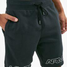 Under Armour Men's Baseline Graphic Fleece Basketball Shorts, 1682031