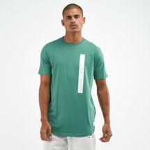 Under Armour Men's Pursuit Wordmark Core Basketball T-Shirt Green
